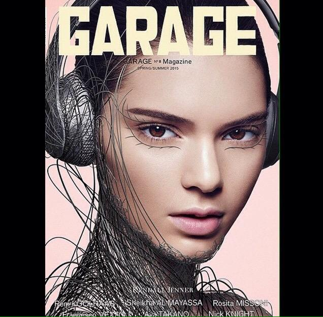 #ThrowbackThursday #GarageMagazine #Spring #Summer 2015 cover with the #beautiful @kendalljenner #makeupbypatmcgrath http://t.co/HiNL4BHOrp