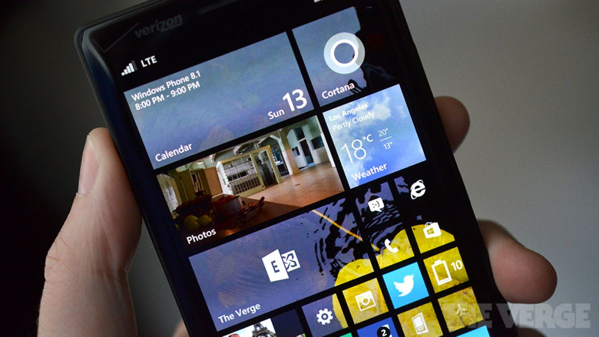 Windows Phone 8.1 Update 2 lets you pin settings and use Bluetooth keyboards