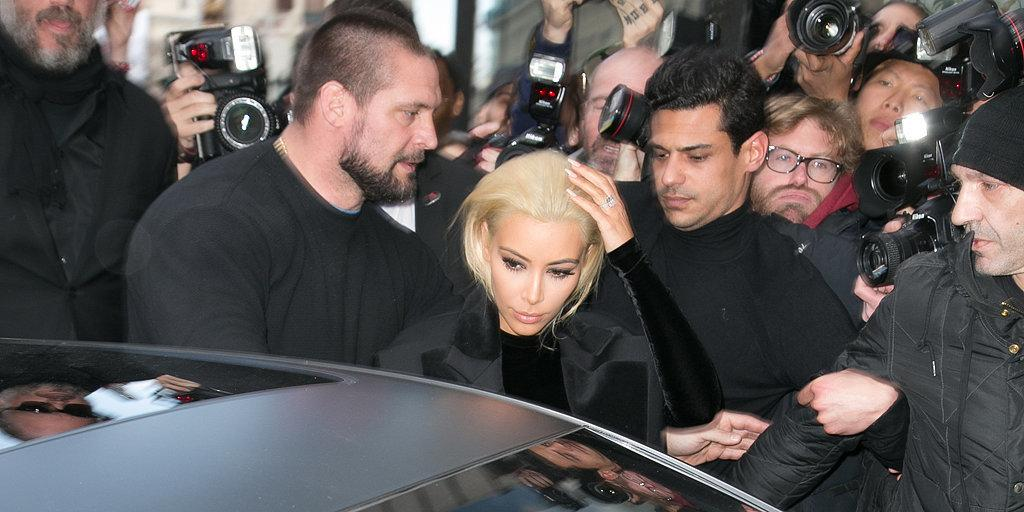 What? You thought @KimKardashian would go to #PFW with the same old look? http://t.co/bg46XzjYwy http://t.co/JJXRDOauB9