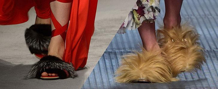 Warning: we'll all be wearing hairy shoes next season. Here's why. @gucci http://t.co/r8dYdy8bdh http://t.co/Dkovw3MBuB