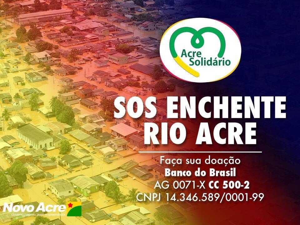 Você está longe e quer ajudar os atingidos pelas cheias dos rios no Acre? http://t.co/BLuv6vuPwt