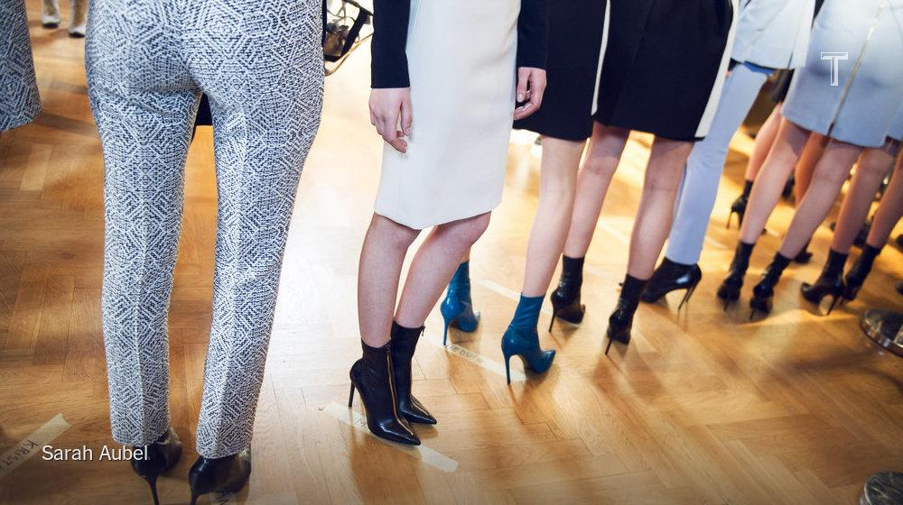 In line at @RolandMouret by @sarahaubel: http://t.co/w89jZ6DKhU #PFW http://t.co/cToeE54k9K