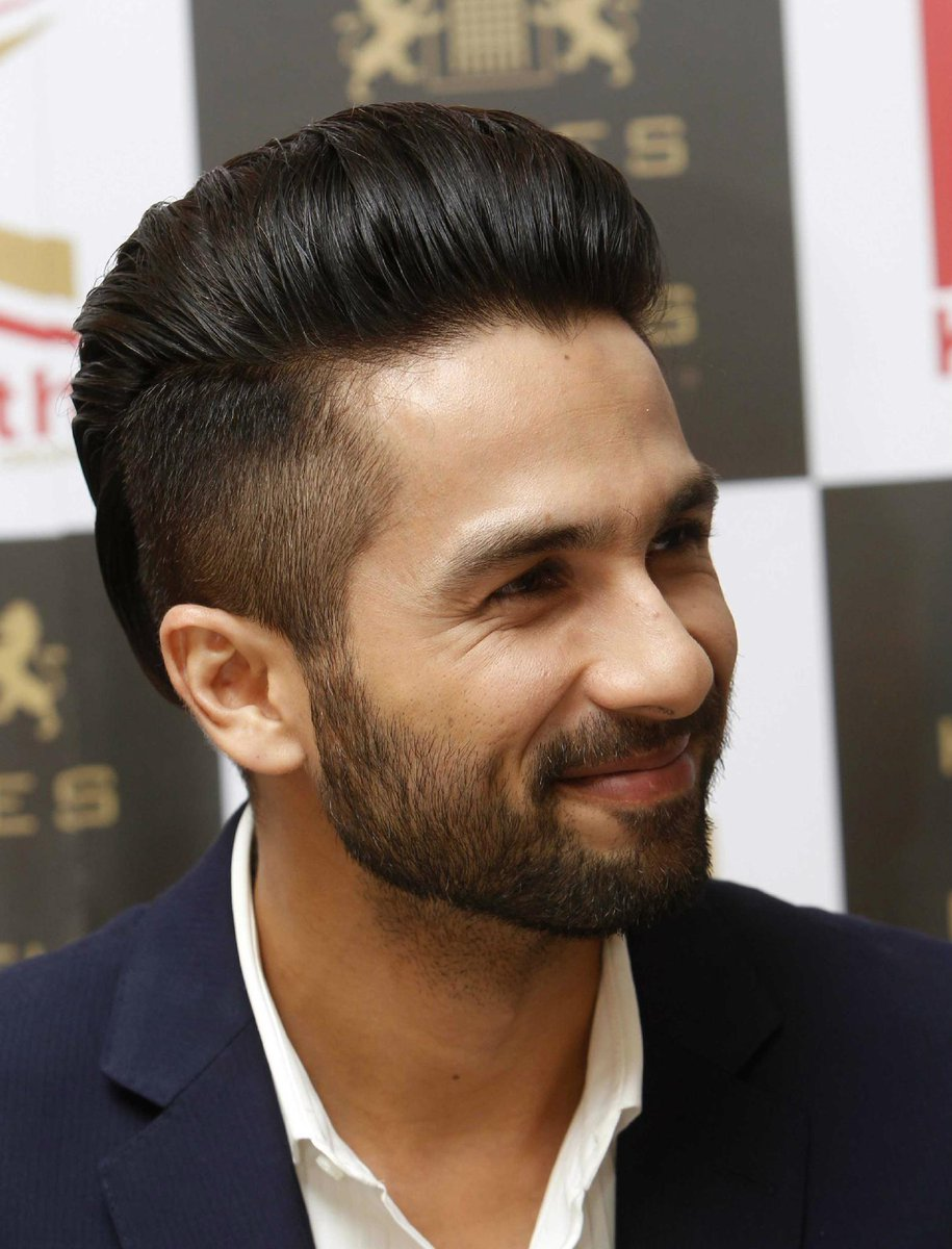 Shahid Kapoor New Hairstyle Picture Hair