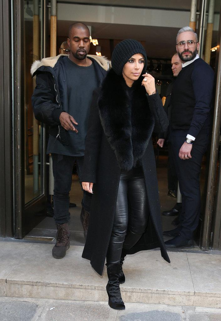 Kim is all covered up – but you'll never guess the reason http://t.co/YdSPCRSfIo http://t.co/0nykncBmr0