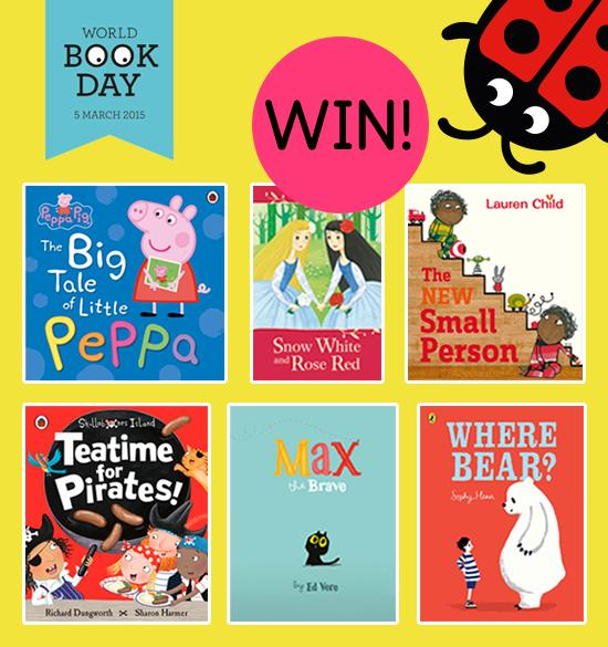 To celebrate @WorldBookDayUK, #Win one of two bundles of these lovely books! RT to enter by 4.20pm today. #WBD2015 http://t.co/Uq5te8T4Df