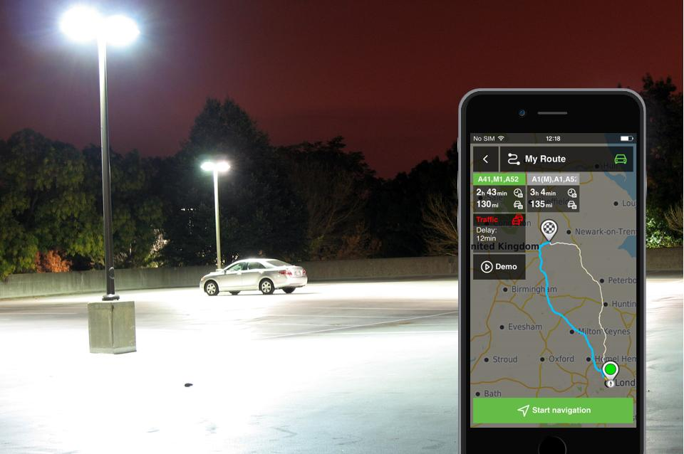 Hit snooze. With NLife smart route calc and traffic avoidance, you'll still be the first arriving at the office. #gps http://t.co/i26ZVu7LT4