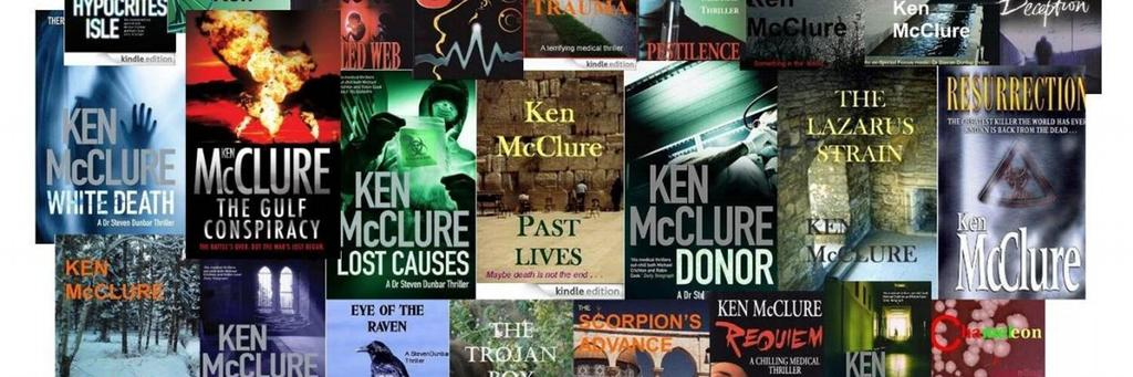 As it's #WorldBookDay ... what is YOUR favourite Ken McClure thriller? #books http://t.co/5AnzvItiwf