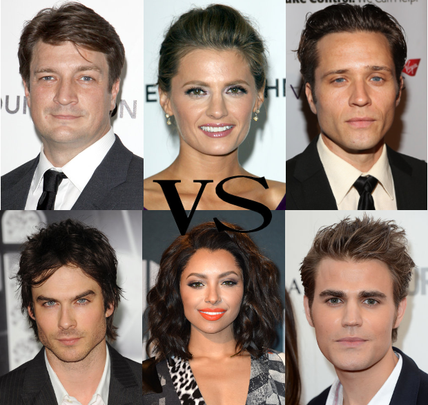Who's the greenest cast in all of TV Land…? http://t.co/DTdU3SzLHg ft @Castle_ABC & @cwtvd #ecotv http://t.co/0HNFMuw9i5