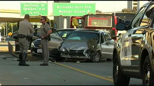 oakland pd still searching for person who fled #i580 crash/shooting