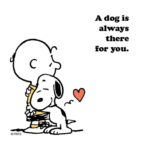 Peanuts On Twitter A Dog Is Always There For You Httptco