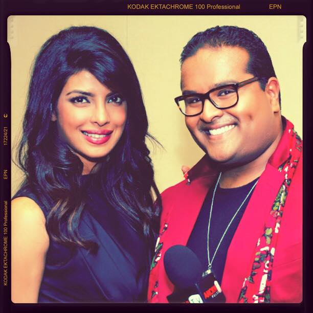 The moment I interviewed one of my favourites @priyankachopra for @ANOKHI_Media #ThrowbackThursday #Bollywood http://t.co/IVwd8fkh2r