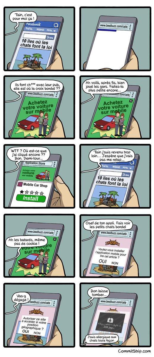 C'est tellement ça ! La navigation mobile en 2015  http://t.co/KXuy5HOU68 http://t.co/DGQ1QvYA7C /chez @CommitStrip_fr