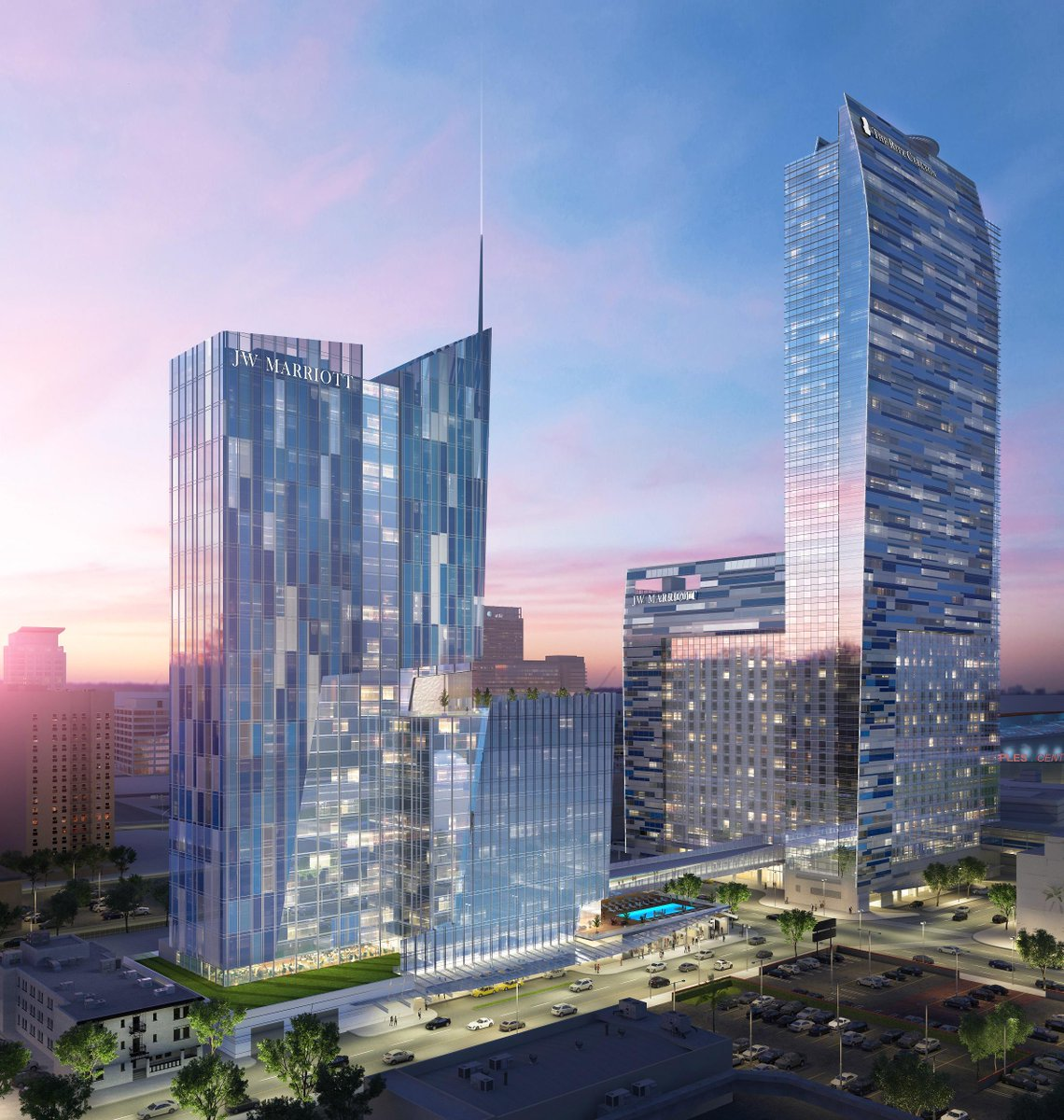 AEG to Develop New 755-Room Hotel in Downtown Los Angeles at @JWLALIVE http://t.co/y6MFvDbu5M http://t.co/MiJSygSfKb