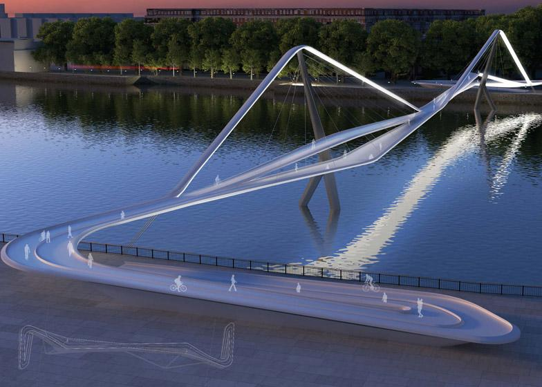 74 designs revealed for new bridge in London - have a look here: http://t.co/pv1wRF4oVr #architecture #design http://t.co/Xj2si5EMWJ