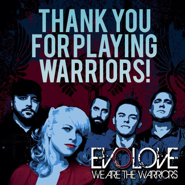 Thank you for playing #Warriors  @WASU_RADIO  @WKNC881  @KUPSTHESOUND  @WessFmRadio @KTSW_899 @UTKtheROCK @I95rocks http://t.co/TqqDr1ldmt