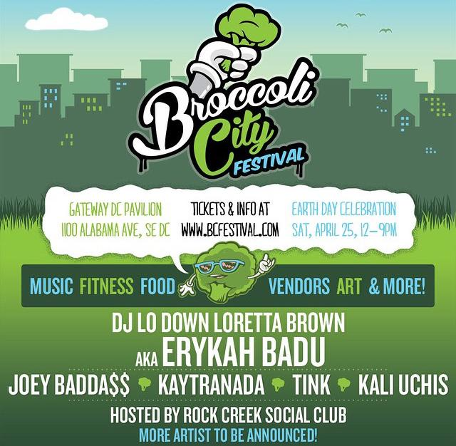 #BCFest Lineup is Here! Happy #SnowDay #DMV #SpringIsComing ☀️☀️ @BroccoliCity http://t.co/MZVeh1XYNQ