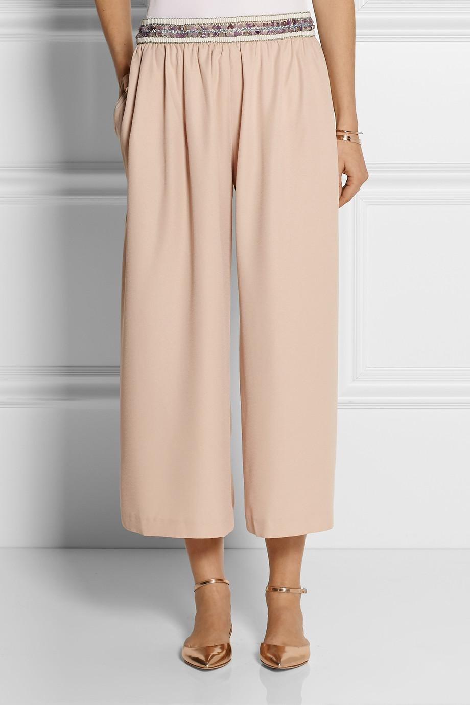 The long and the short of it: culottes make the cut for #SS15  http://t.co/NaCPnYi2QX http://t.co/XY45ClvSrm
