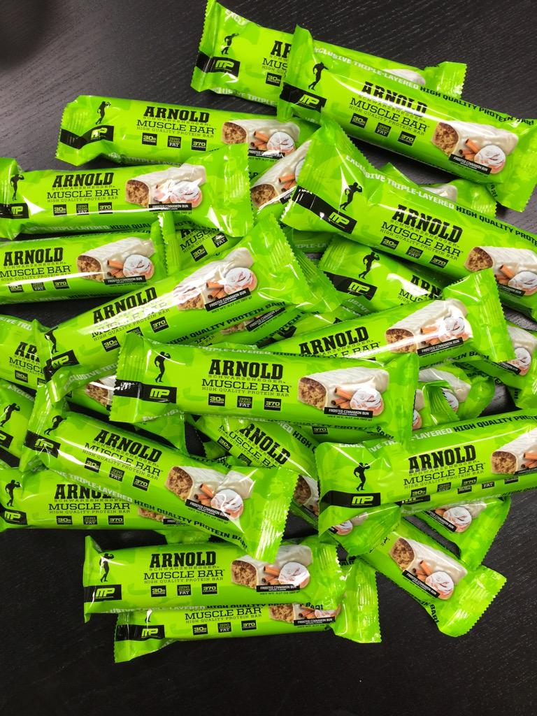 ----- ARNOLD MUSCLE BAR #contest ------ @SamplesMP .........  ~~~~~~~ #RT2Enter ~~~~~~~ http://t.co/6pfcCOxPn3