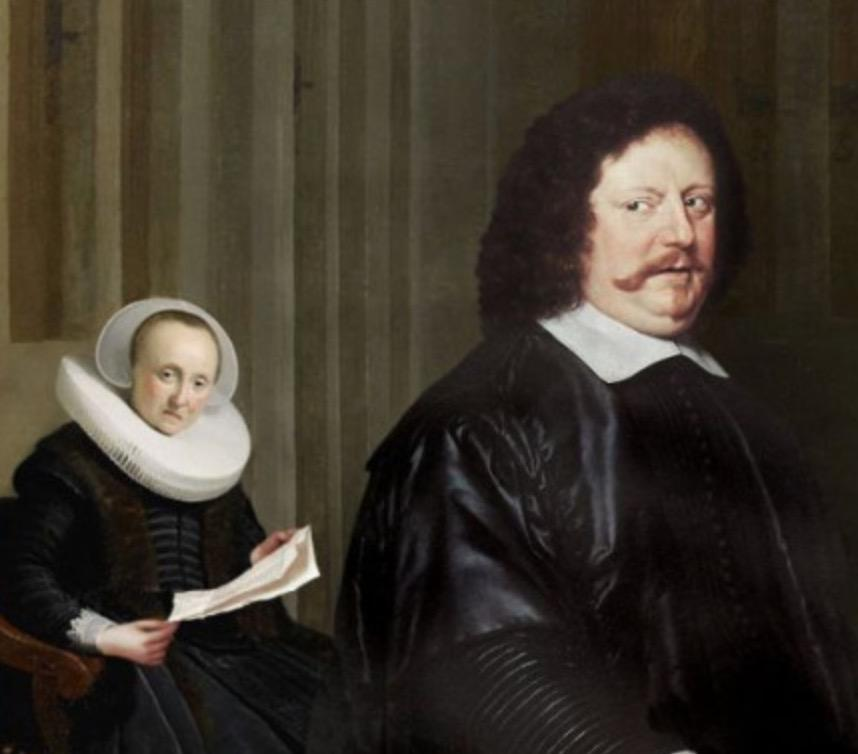 """Wife Discovers Browser History"", unknown artist, c. 1586. (Brazenly stolen from @reddit) http://t.co/Qa9C6uufyk"