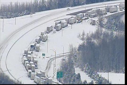 """@bourbonblog: Thoughts with the stranded motorists on Kentucky's I65 in the snow -> http://t.co/Jwrijas7CQ"" this is the worst. trip. ever."