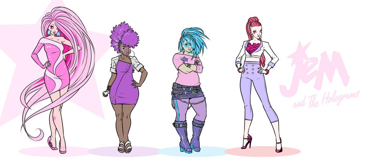 LOVE @rosscampbelll's #jemandtheholograms comics work. Take notes, Hollywood: Diversity can be beautiful. http://t.co/wiS9wnBWlh