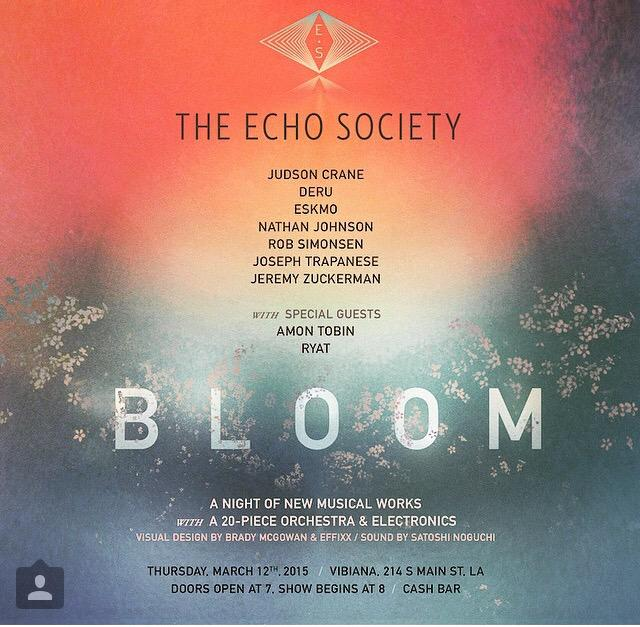 pumped for this - LA - 20 piece chamber orchestra & beats.. I wrote a special piece for this. @TheEchoSociety http://t.co/R3aXEMNJnu