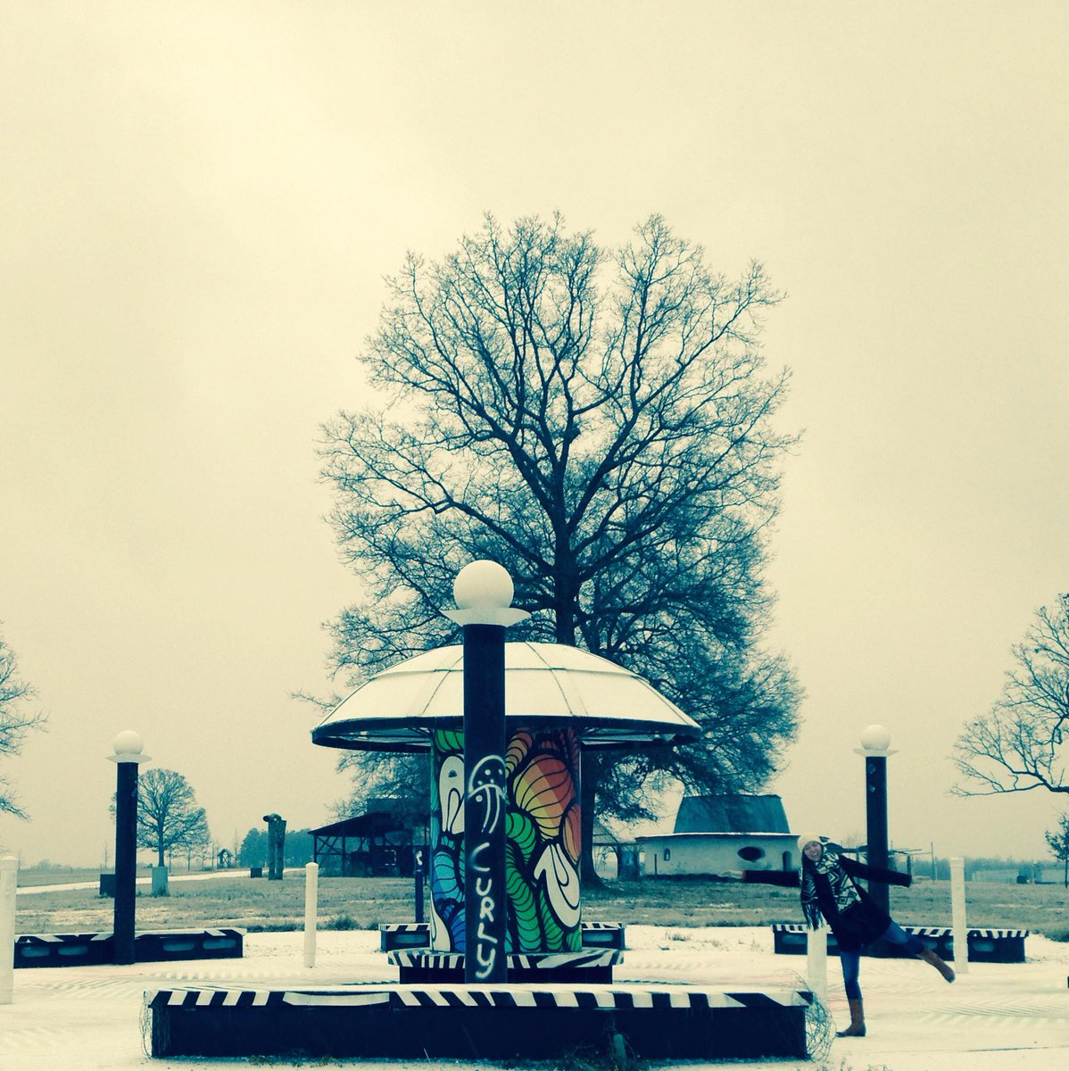 Our #Bonnaroo team is down at The Farm this week and forgot their ice skates! Only 98 days to go... http://t.co/5VnfD7qUP1
