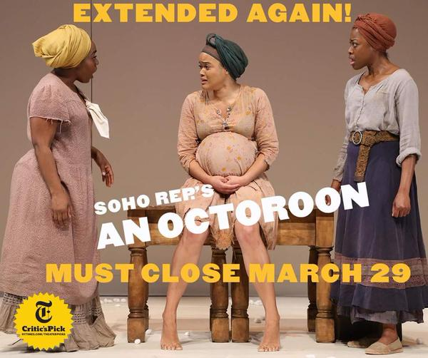 Don't want to walk in the snow? Come see #AnOctoroon in the spring! Extended through March 29th! http://t.co/SphYX5eA1a