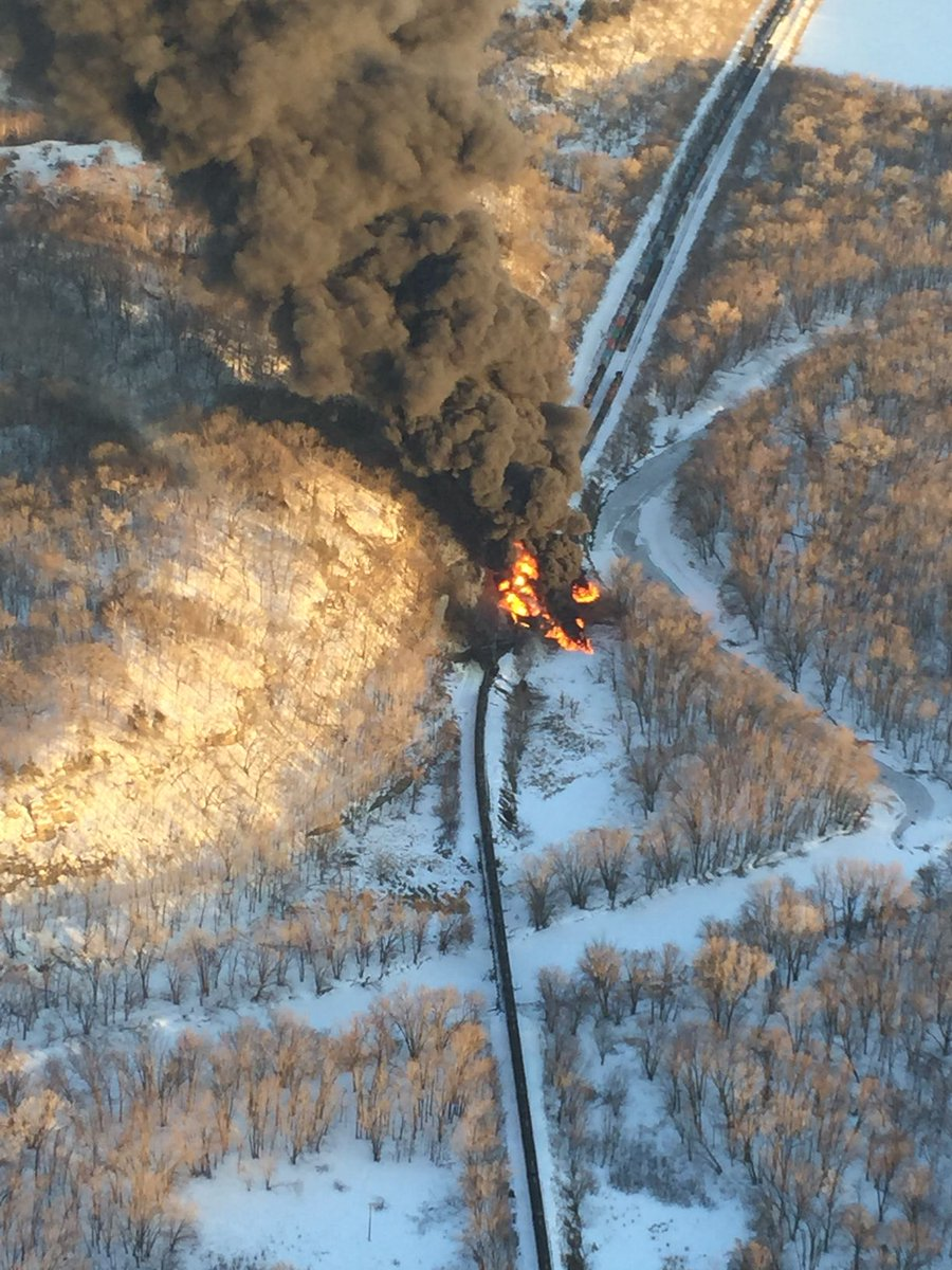 Interesting... 2 tanker fires happened today B_Xz5QSUcAAj6br