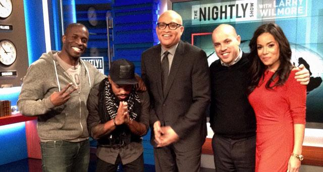 RT @nightlyshow: Tonightly: @PhilofDreams_, @GodfreyComedian, @SunnyHostin, and @MichaelSkolnik are here to discuss #Ferguson. http://t.co/…