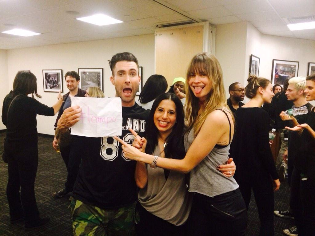 Thank you @adamlevine & @BeePrinsloo! You're the best! #TeamPo #Fcancer @potheho @JamieMoghadam http://t.co/ZvQbuAjLwh