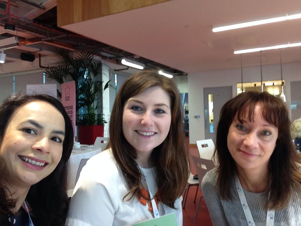 Today a few of us are @facebook with @theirworld for International Women's Day Breakfast this morning http://t.co/3iEnu2kovz