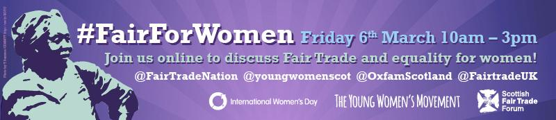 Got questions about women's rights? Join the #FairForWomen twitter Q&A today with @FairTradeNation & @YoungWomenScot http://t.co/OaqzOKmXGz