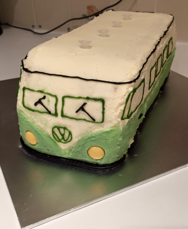 Volkswagen Vans On Twitter Check Out This Birthday Cake Made By