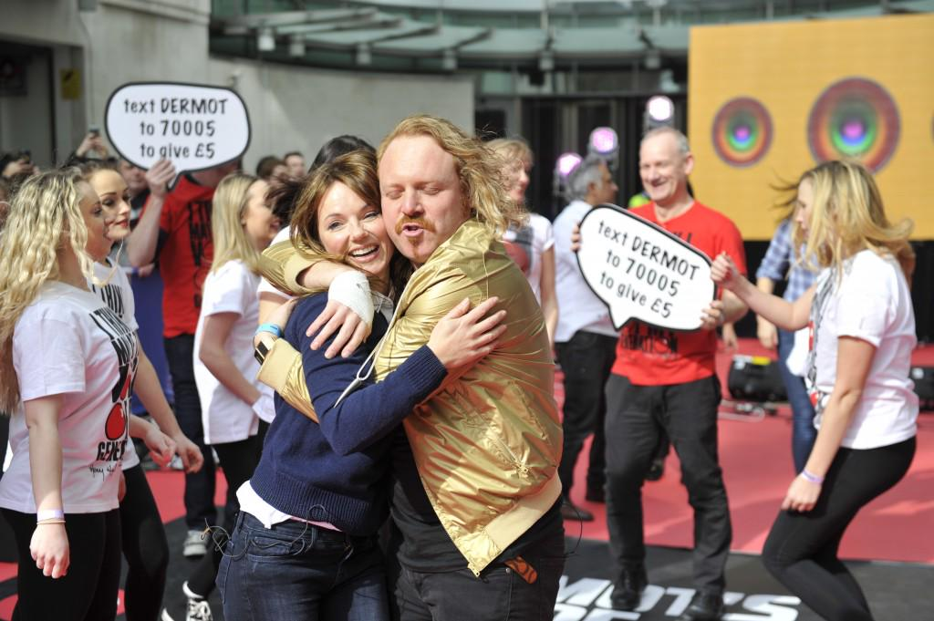 RT @BBCWiT: Ice and @lemontwittor for @radioleary pls! Check out Keith's spicy moves with @GeriHalliwell: http://t.co/YH3y78MrTg http://t.c…