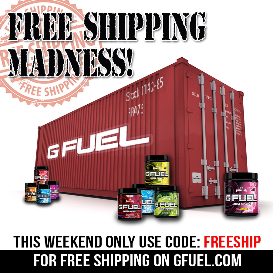 G Fuel On Twitter Free Shipping Worldwide Use Promo Code Freeship At