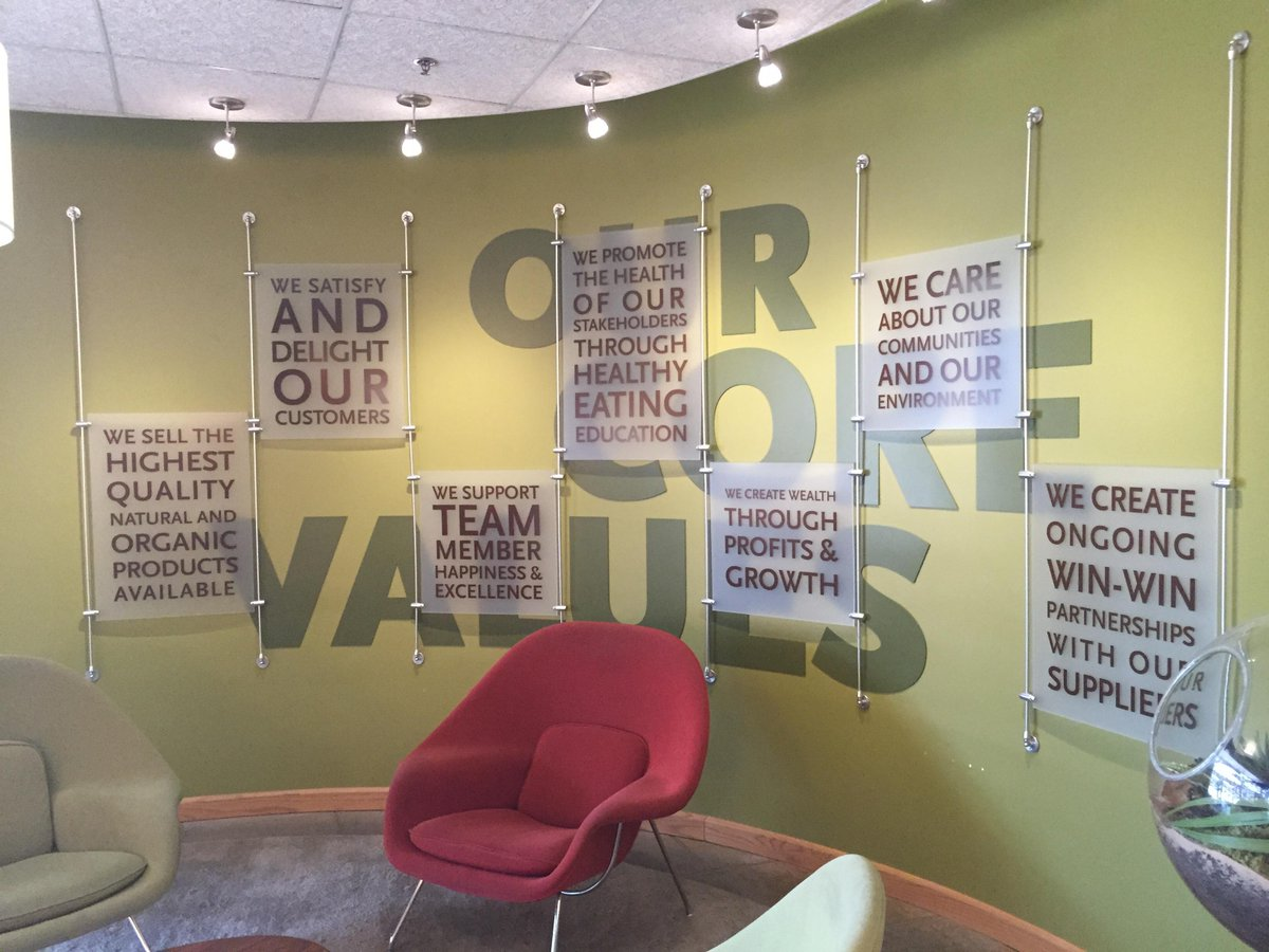 #TalentNet is taking place today at the @WholeFoods headquarters. Check out their company core values. #SXSW http://t.co/9kEeWCGdFx