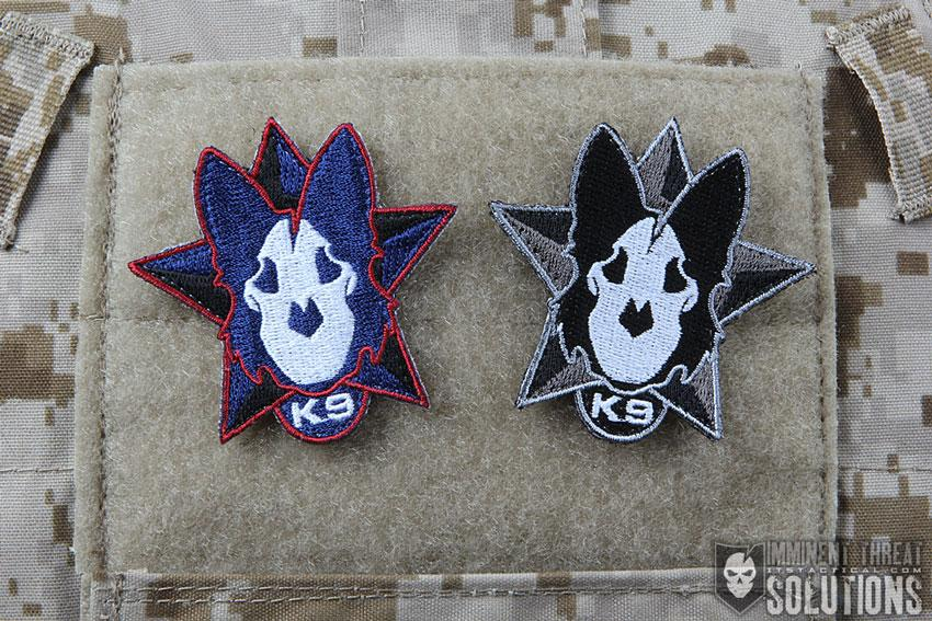 Today is K-9 Veterans Day & we teamed up with @WarriorDogs to create this morale patch. http://t.co/rF8R1PWQSR // http://t.co/6rDTNF3x5I