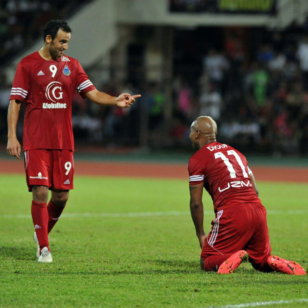 Éamon Zayed didn't expect to end up in Malaysia playing beside El Hadji Diouf