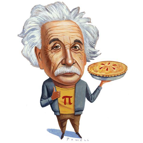 """Oggi 14 marzo e' il giorno del numero Pi greco, """"π"""""""
