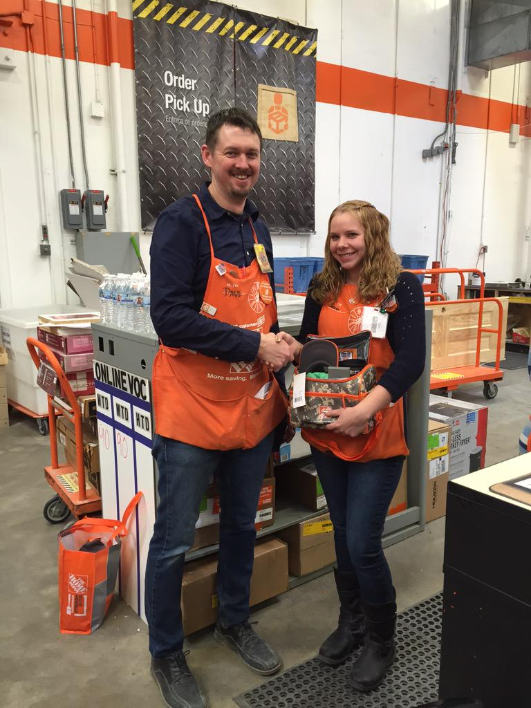 Home Depot 1234 On Twitter OPS Associate Of The Month Jenn L Great Service Desk Delivering Customer