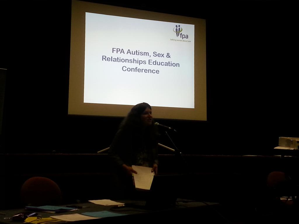 And we're off! #fpaautism conference http://t.co/eQYsI5a8oe