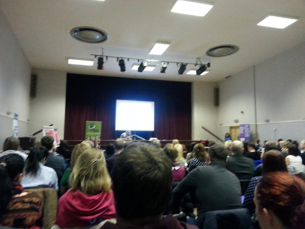 Alison from @FPACharity speaking about her excellent work to a packed house  #fpaautism conference. http://t.co/3kKVsZbunL