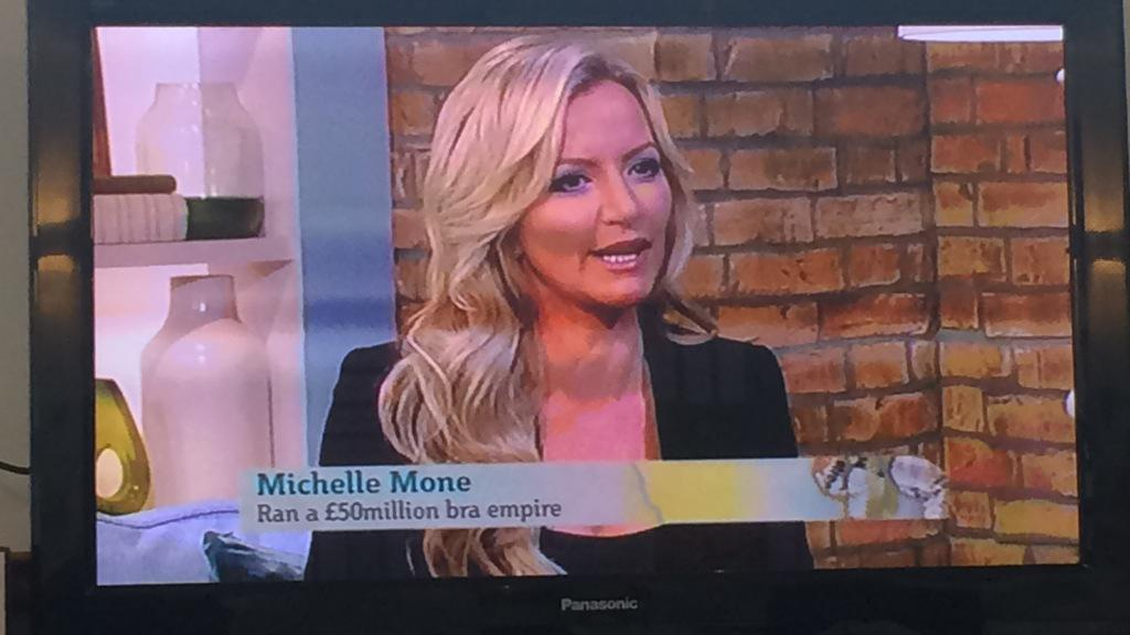 RT @The_CAN_Group: Watching our very own @MichelleMone on @itvthismorning - tune in right now! #MichelleMone #MyFightToTheTop http://t.co/j…