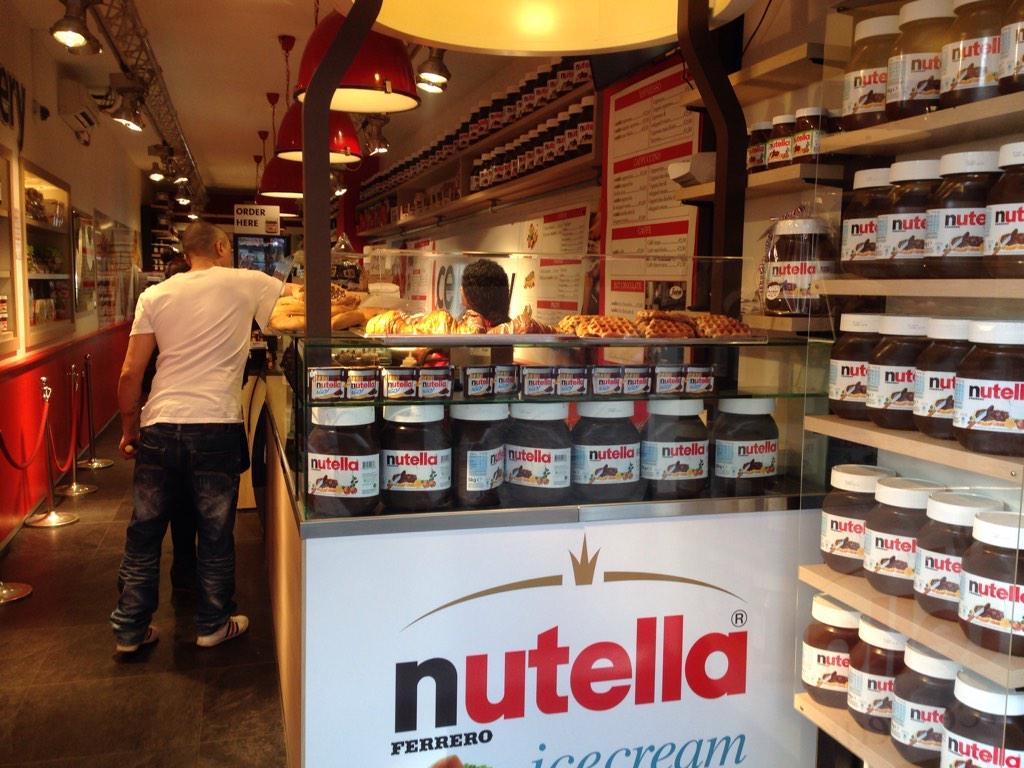 anna nutella Nutella bar - eataly nyc, new york, new york 52k likes this is about nutella, nutella, and nutella nutella as far as the eye can see, in many.
