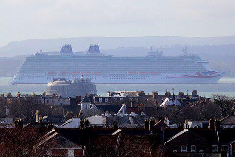 #Britannia passing Portsmouth!! http://t.co/O2bwJXT9zT