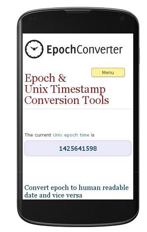 Epoch Converter (@epochconverter) | Twitter