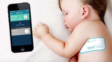 TempTraq, nuovo termometro Bluetooth indossabile per neonati