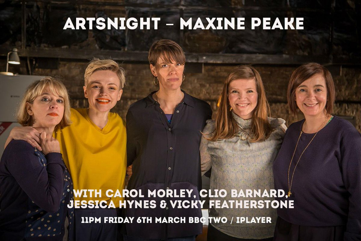 Maxine Peake talks to Jessica Hynes, Carol Morley, Clio Barnard & Vicky Featherstone about the role of women in TV http://t.co/AI2lLx58hc