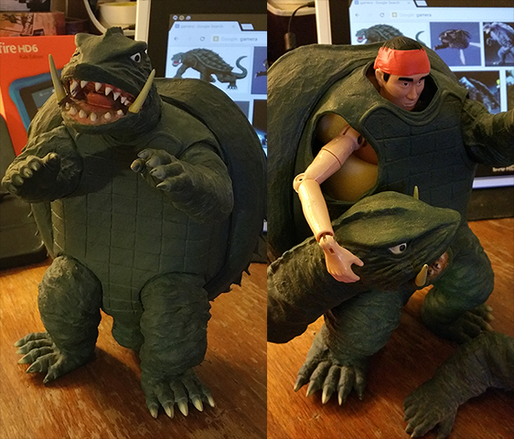 I love this #Gamera model. It's very accurate. #SciFi #Toys #Kaiju http://t.co/VXHQFKuz3q